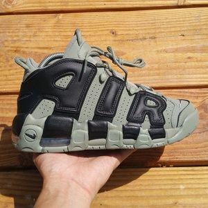 Nike Air More Uptempo Dark Stucco Basketball Shoes